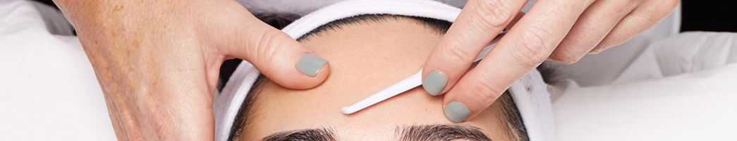 Dermaplaning with chemical skin peel
